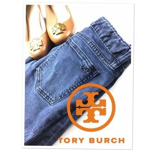 TORY Burch Cropped Skinny Jeans
